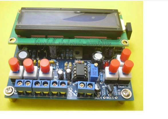 1Pcs Digital Secohmmeter Capacitance Inductance Meter Frequency Meter DIY Kit(China (Mainland))