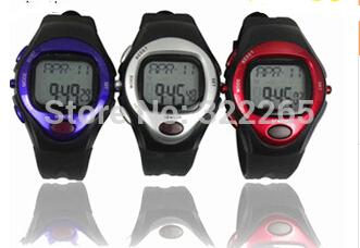 polar heart rate monitor calorie counter watch pulse meter bike bicycle running sports pedometer watch boys waterproof digital(China (Mainland))