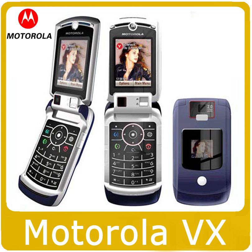 Original unlocked MOTOROLA V3X cell phones 2.0MP Camera Bluetooth MP3 MP4 Player(China (Mainland))
