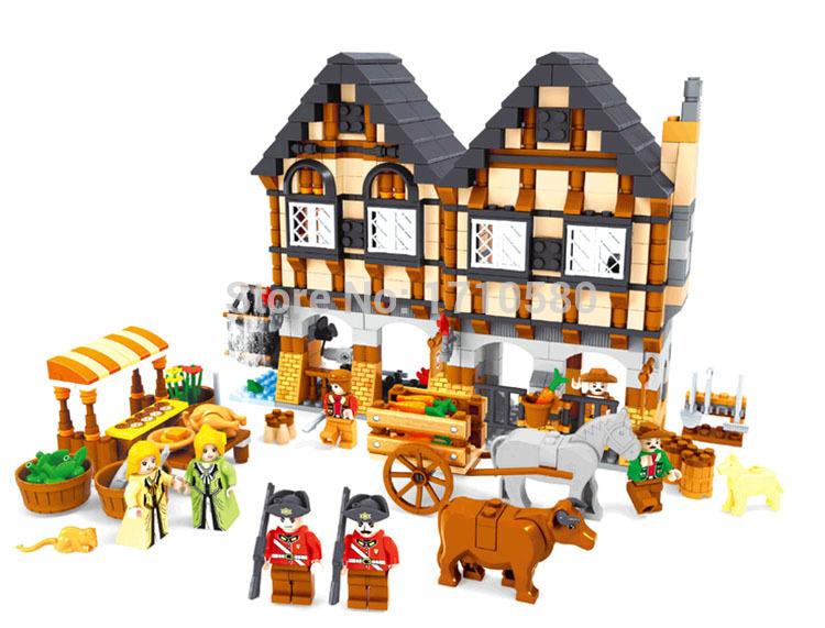 Детская игрушка Ausini 28001 884pcs DIY