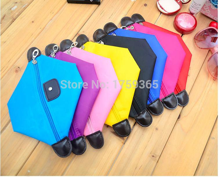 Best Quality Brand Women Waterproof Zipper Cosmetic Make up Bag Small Pouch Organizer handbag Travel Bag Storage bags Simple(China (Mainland))