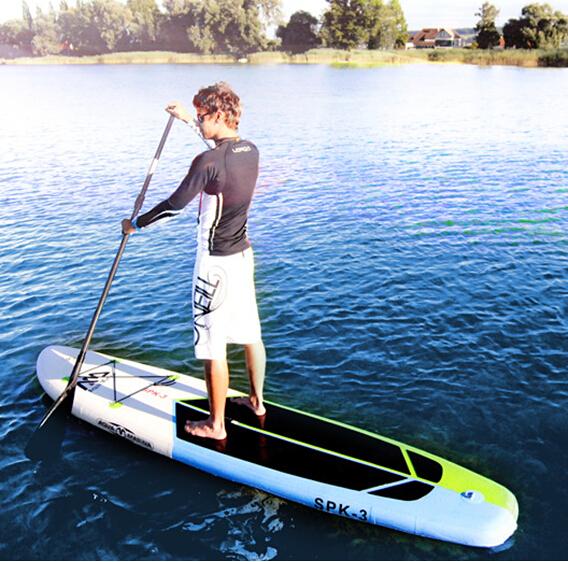 SPK-3 330*75*15cm aquamarina surf board paddle,surfing, paddle board,oars,inflation pump, bag, repair patch,kayak(China (Mainland))