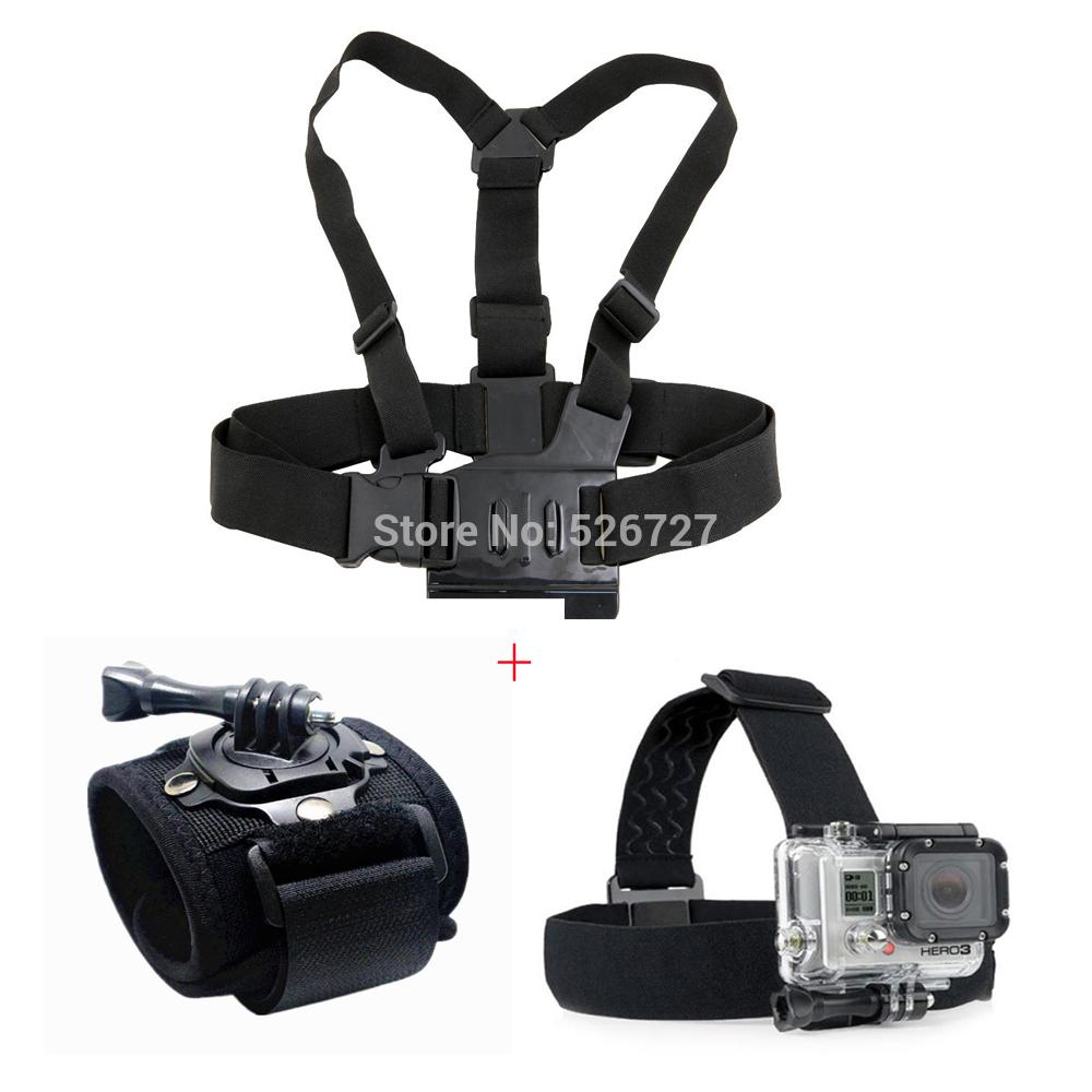 Электроника OEM + GoPro HD Hero 4 3 + 3 2 1 SJ4000 GP10018 электроника oem gopro selfie gopro hero 4 2 3 sj4000 chesty