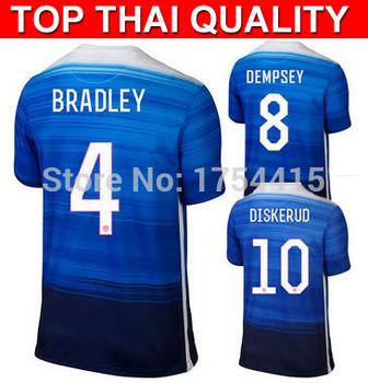 New usa team dempsey bradley diskerud jones 2016 home soccer jerseys