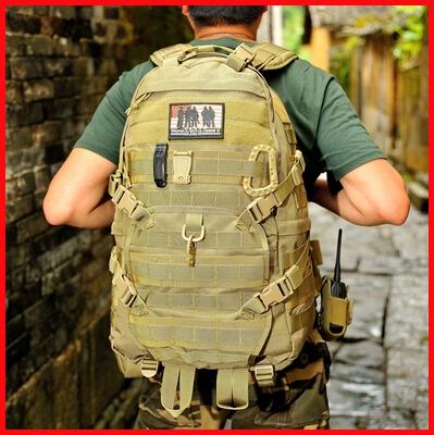 Thunder TAD-III tactical backpack hiking outdoor camping bag military army training backpack 1000D nylon YKK zipper free shippin(China (Mainland))