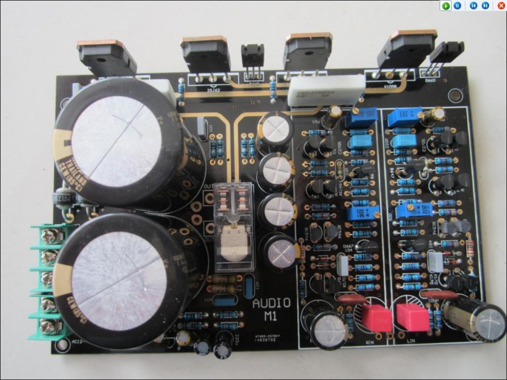 Аудио усилитель Oem M1/mos FET 120W + 120W 2SK1058 2SJ62 WLX M1-MOS [vk] aqs221r2sz photomos mos fet relay relays