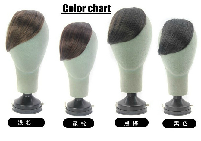 4 color invisible seamless Liu Haipian shot oblique bangs hair extensions sweet bangs hair hot source(China (Mainland))
