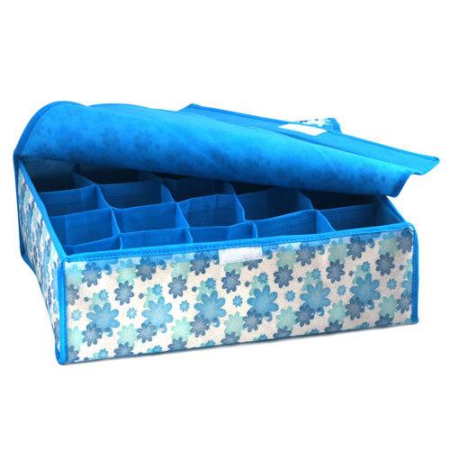 2015 NEW Hot Sale Folding 16 Grid Storage Box For Bra,Underwear,Socks 31*31*11CM Non-Woven Fabric(China (Mainland))