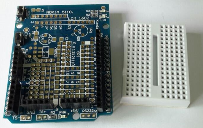 arduino breadboard - arduino