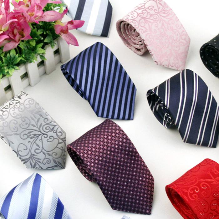 High Quality Brand Neck Tie Fashion Tie Mens Casual Ties Stripe Silk Necktie Ties For Men Gravata(China (Mainland))