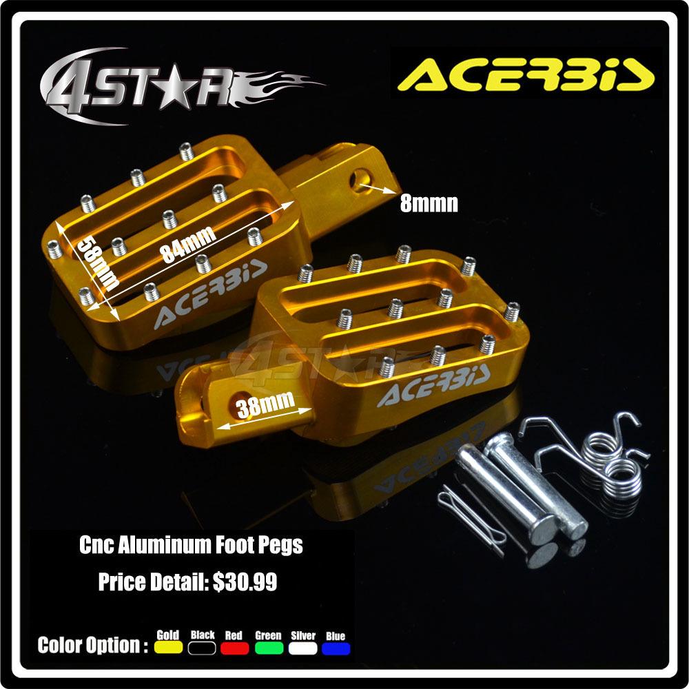 Упор для ноги 4 star CNC CR KLX TTR BSE XR TTR 50 70 110 125cc