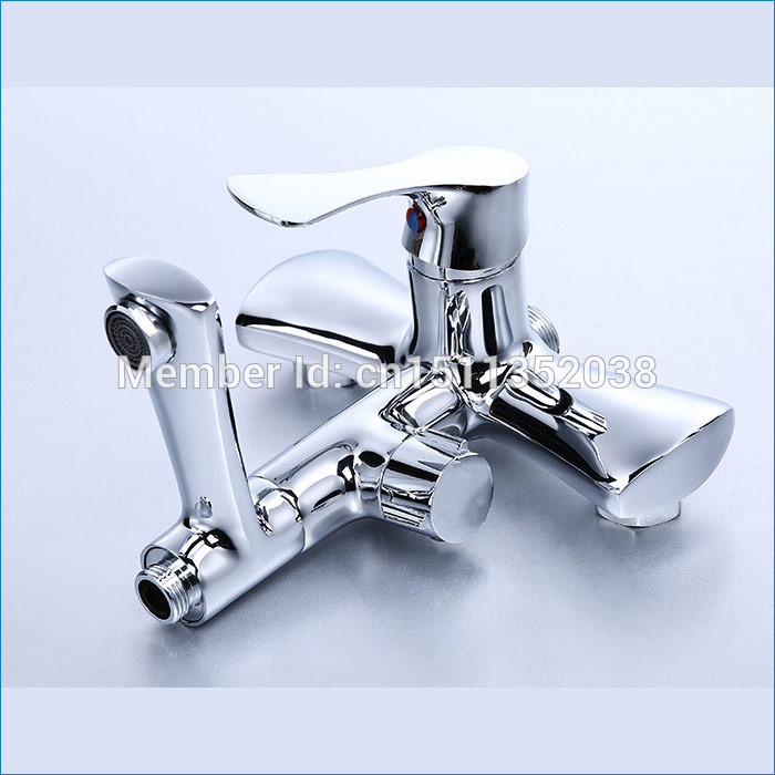 Luxury thermostatic bath shower mixer tap,brass Thermostatic shower faucet,Free Shipping J14662(China (Mainland))