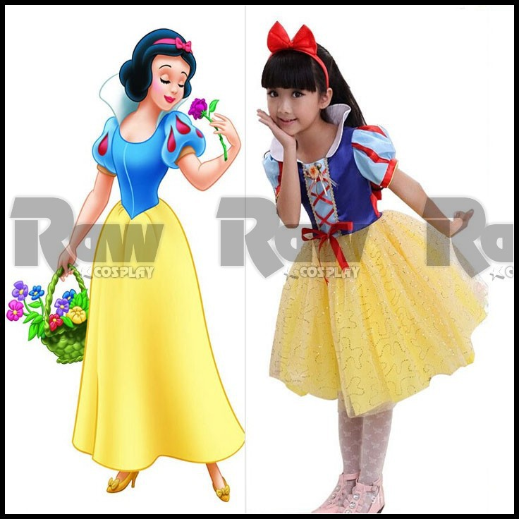 Snow White Costume Kids Diy Snow White Costume Children