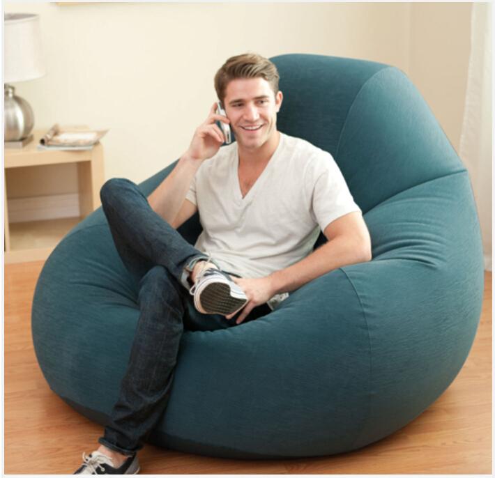 warm te koop moderne intex lucht sofa set woonkamer meubels opblaasbare sofa luie stoel(China (Mainland))