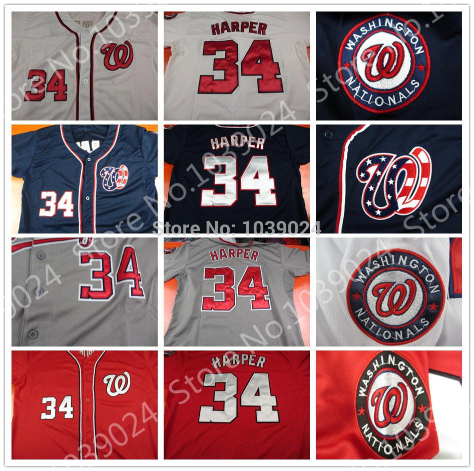 Bryce Harper Baseball Jerseys #34 Baseball2015W34 baseball jerseys 34 100