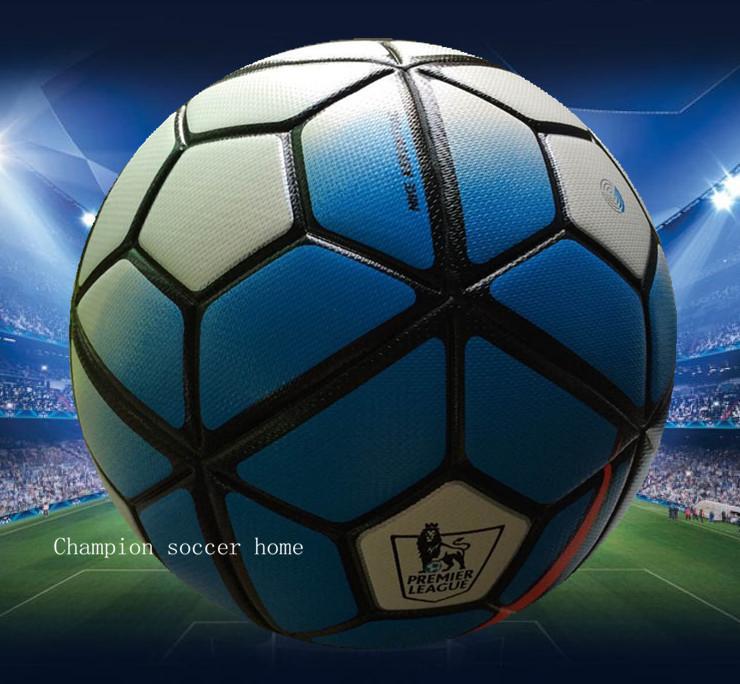 Free shipping European champion league/England premier soccer ball size 5 ball Anti-slip granules football For match/training(China (Mainland))