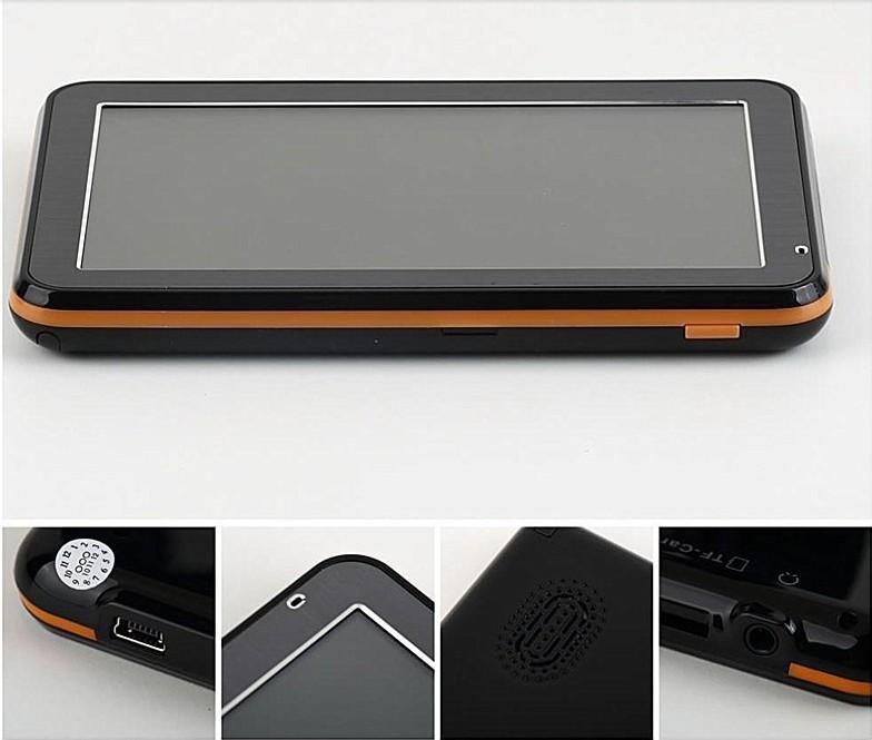 Television ISDB GPS Portable car navigation systems 4.3 inch TFT-LCD screen, Display solution 480*272(China (Mainland))