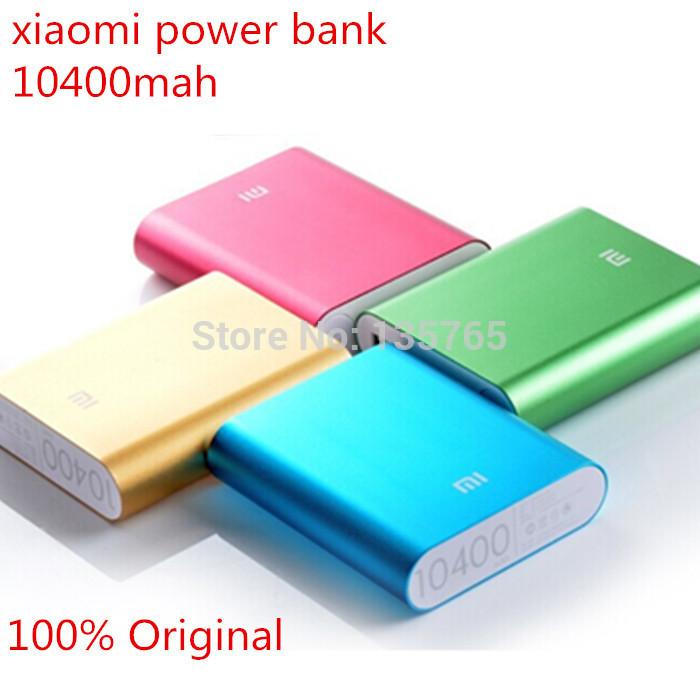 Зарядное устройство 100% Xiaomi 10400 powerbank XIAOMI POWER BANK зарядное устройство 3600mah powerbank iphone 6 samsung s5 4 xiaomi mini cartoon power bank