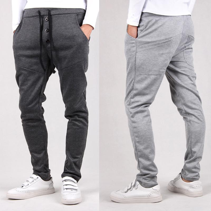 Buckle Pants For Men 2015 Men's Pants Three Buckle