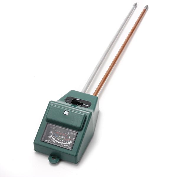 New Arrival 3 in 1 PH Tester Soil Detector Water Moisture Light Test Meter Sensor for