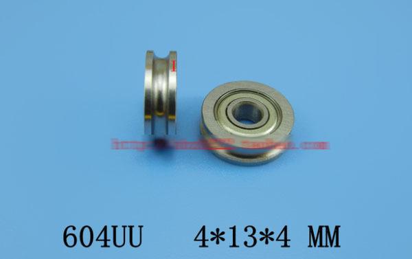 Шариковый подшипник с глубоким жёлобом 604UU U604 ZZ 4x13x4mm 3D U