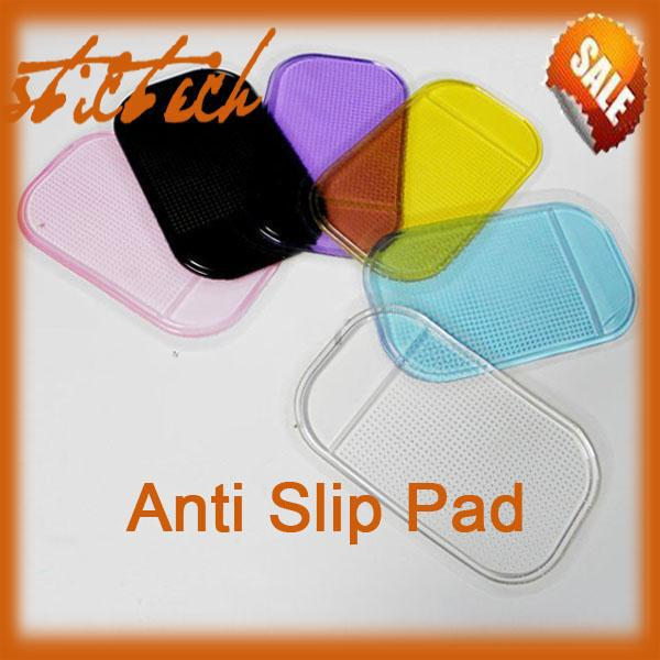 BY DHL OR EMS 20 pieces soft vinyl surfaces Silica Gel Magic Sticky Pad Anti-Slip Non Slip Mat for Phone PDA mp3 mp4 Car #8097(China (Mainland))