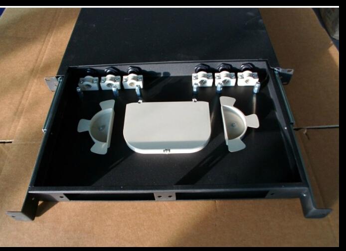 24 LC / FC / SC-ST Fiber Box Terminal box junction box Cable Terminal Box(China (Mainland))