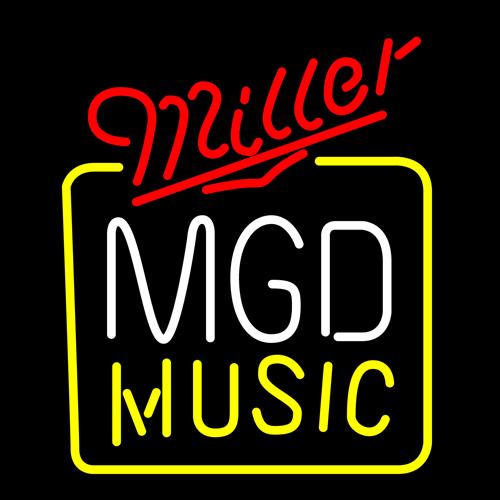"Dr. Neon awesome best custom Beer Sign Miller MGD Bottle Cap 2 Neon Logo Bar Beer Sign Pub Light 24""x24""(China (Mainland))"
