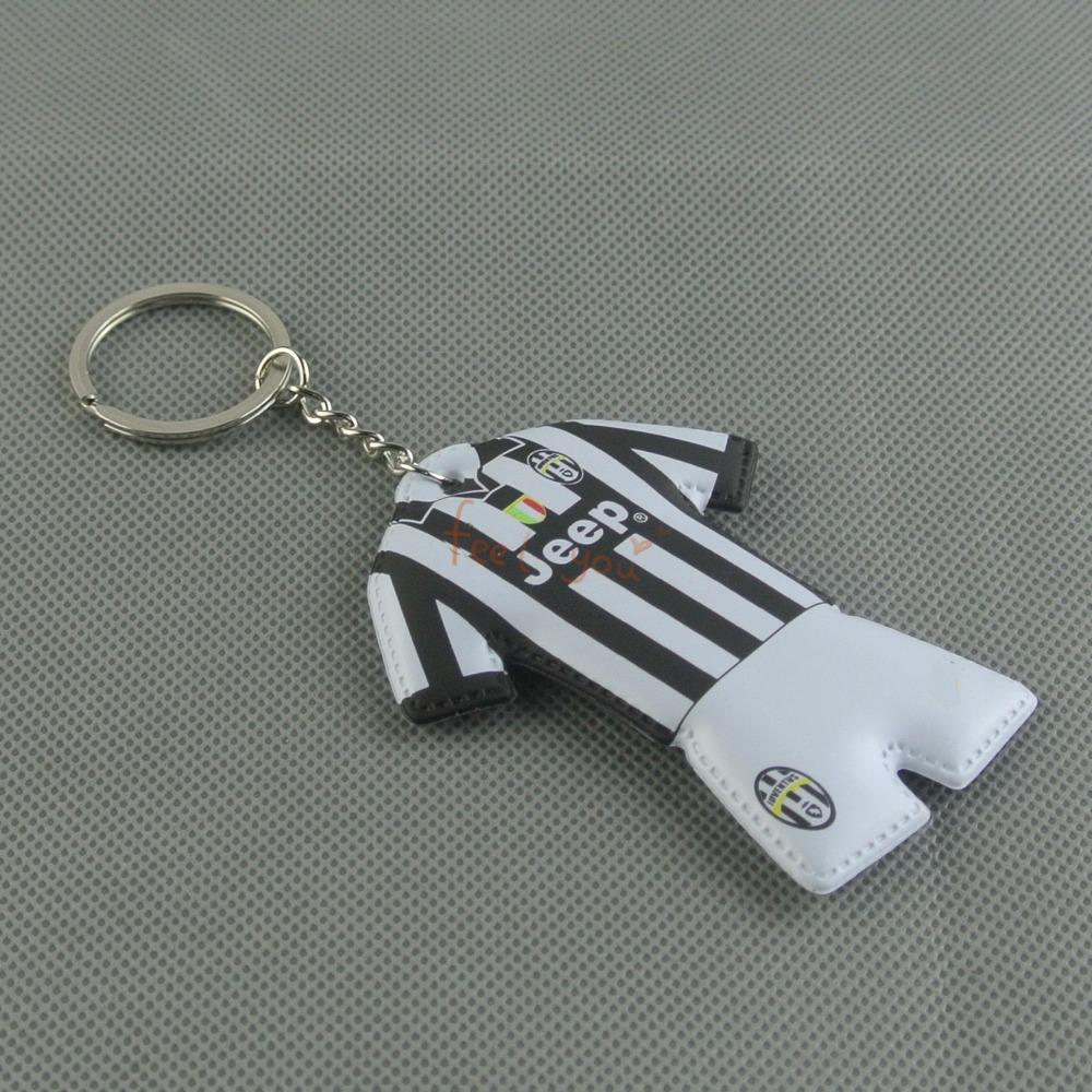 Juvenus Logo Soccer/football National Team Keychain Jersey Commemorative Keyring(China (Mainland))