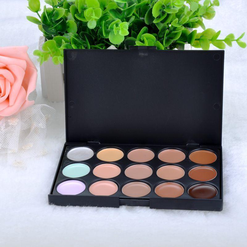 15 colors Concealer Neutral Palette 15 color makeup tools scar cream Face concealer Camouflage Makeup F50MPJ034#M1D(China (Mainland))