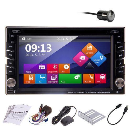 2015 NEW W8 2 Din HD 6.2'' Touch Screen GPS Navigation Car Stereo Radio DVD Player RDS+ipod+TV+BT+USB/SD+Rear Camera Head Unit(China (Mainland))