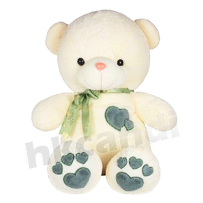 Teddy Bears With Hearts And Roses Gif Blue Heart Teddy Bear 45cm