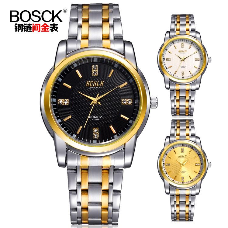 BOSCK relojes relogio montre homme 3208