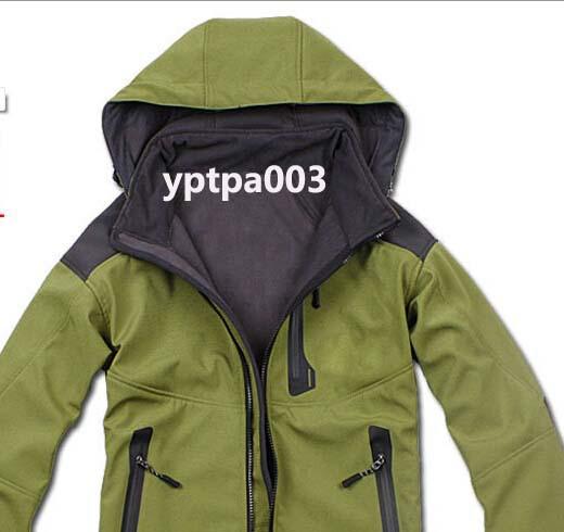 2015 winter Men's polar Fleece Lining sports face clothing Casual outdoor jacket coat yptpa003(China (Mainland))