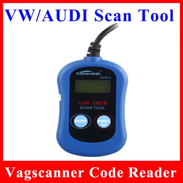 Оборудование для диагностики авто и мото 2015 VAGSCANNER KONNWEI KW812 VW/AUDI какое оборудование купить для диагностики для автомобиля
