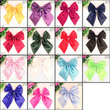 new Formal commercial bow tie women's solid color marriage bow ties for girl candy color butterfly cravat bowtie butterflies (China (Mainland))
