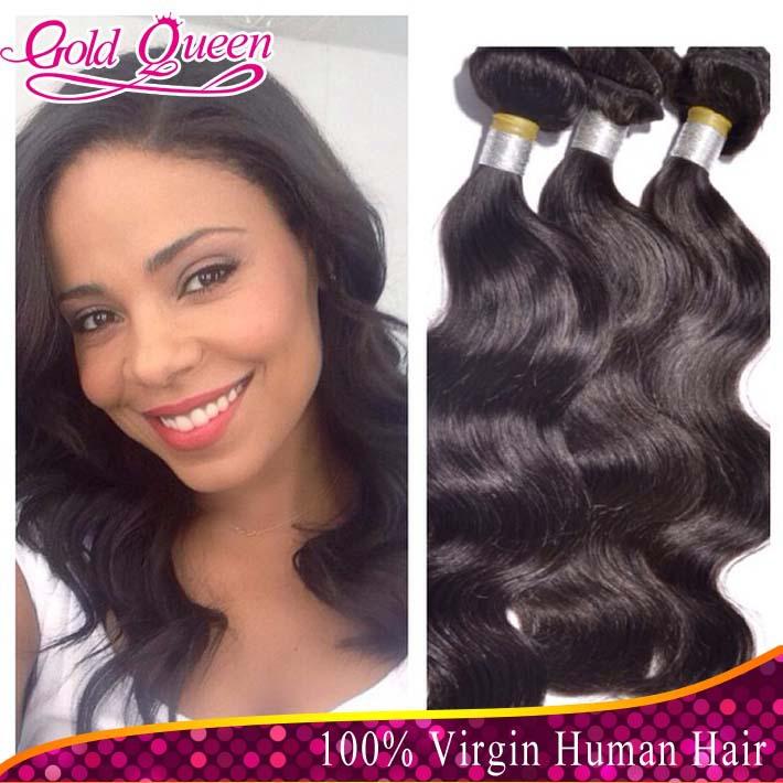 Golden Queen Hair Weave Remy Indian Hair
