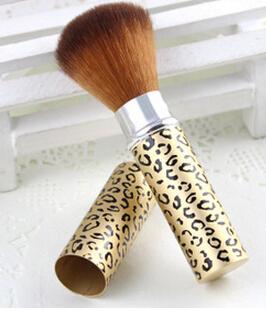 Telescopic cosmetic brush cheek red brush brush grooming soft bristles Beauty makeup tools(China (Mainland))