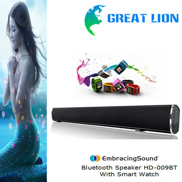 2015 3D LCD TV sound bar Bluetooth speaker sub woofer all frequency 3D speaker for home theatre system Speakers for TV LCD TV(China (Mainland))