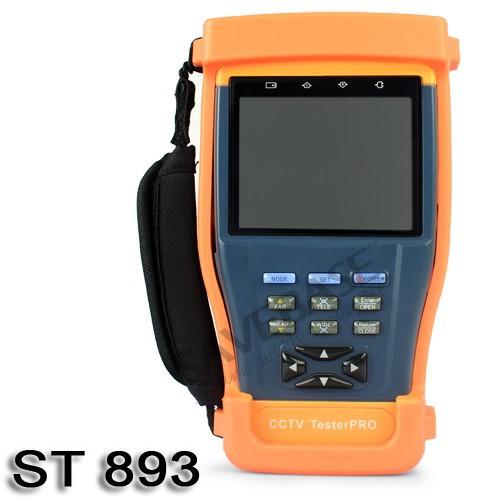 "SAVEBASE 3.5"" Inch LCD Monitor CCTV Camera Video PTZ RS485 UTP Tester Meter 12V/1A Output(China (Mainland))"