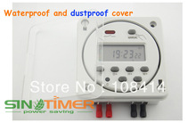 Panel Mounting 7 Days Digital Time Relay Switch Control 24v with 4 free connectors FREE SHIPPING