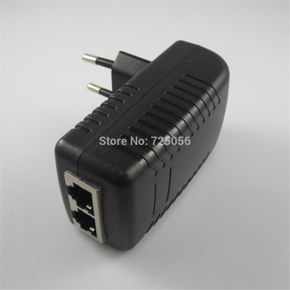 Сетевой коммутатор DC48V 0.5A PoE 10/100Mbps Ethernet PoE PoE Pin 4/5, 7/8, 802.3af PD Max100m PSE-480050  reverse poe 8 ethernet port gepon onu fttb mdu g108p