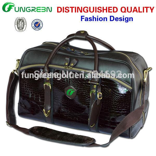 Fashion Import PU Waterproof Golf Bag Men Clothing bags(China (Mainland))