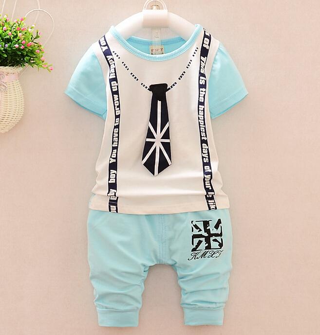 AliExpress.com Product - 2015 new Summer wear baby Boy clothing set boy sports suit set clothing children outerwear coat tracksuit clothes T shirt+pant