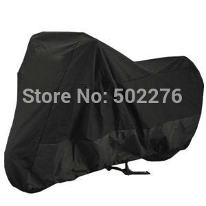New Black cover XXL size 280*140*120cm Motorcycle Cover Waterproof Scooter Cover UV Resistant Indoor Outdoor Bike Cover(China (Mainland))