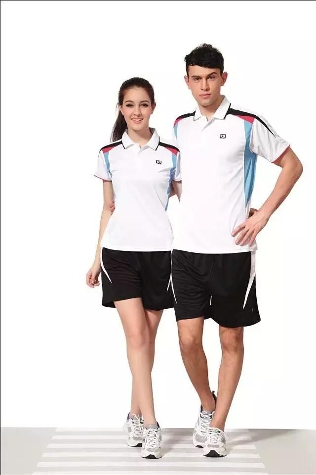 Top Quality Willson Badminton Jersey Men and Women Shirt+Short Leisure Sports Athletic Tennis Clothing Set M Tenis Camisetas 259(China (Mainland))