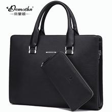 2015 Real New Microfiber Laptop Hot!! Brand Business Bag Handbag Boutique Men Cross Section Briefcase Men's Computer Messenger (China (Mainland))