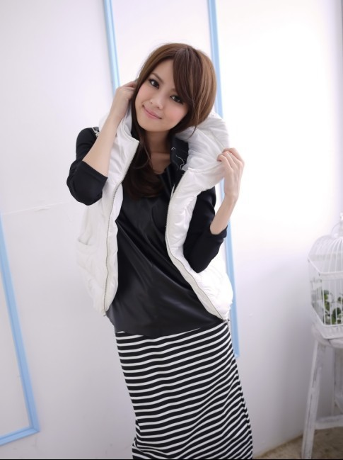 deals were not returned real shot in autumn winter 2736 cottjacket sleeveless vest(China (Mainland))