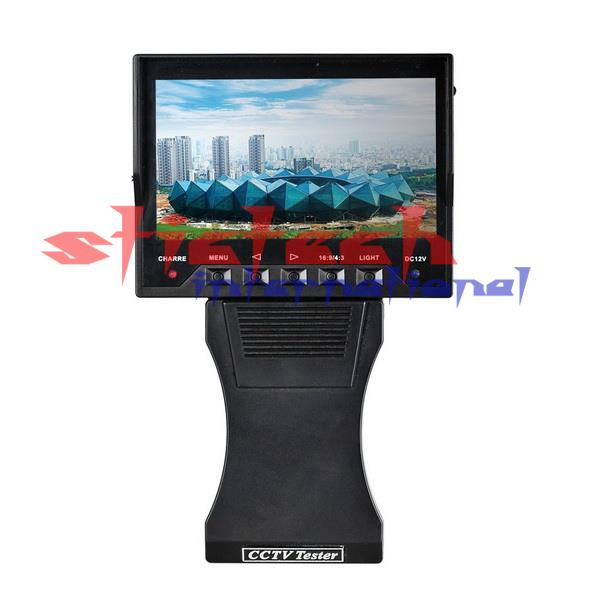 "by dhl or ems 10pcs 4.3"" TFT LCD AV CCTV Test Monitor Tester DC 12V Output Security camera(China (Mainland))"
