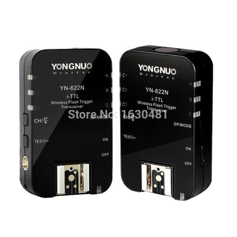 Yongnuo YN-622N TTL Wireless Transceiver HSS Flash Trigger Receiver Transceiver YN622N For Nikon(Hong Kong)
